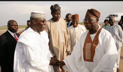 """""""I Support Mega Party But If Atiku Will Be The Presidential Candidate Then Count Me Out"""" -Obasanjo"""