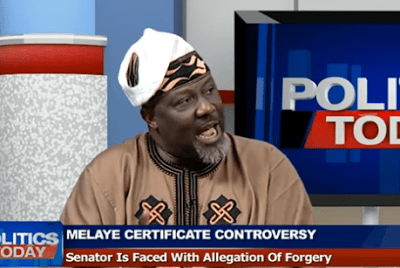 Video: Dino Melaye refuses to answer question about his graduation from Harvard