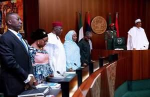 Photos: President Buhari presides over the Federal Executive Council meeting