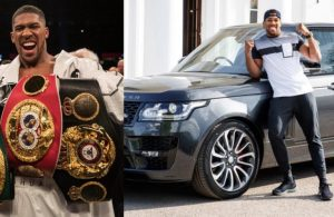 Thieves Steal Anthony Joshua's £200k Custom-Built Land Rover