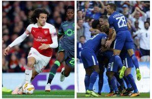 Arsenal, Chelsea qualify for Europa League next round