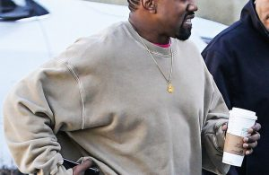 Kanye West shows off dramatic new hairstyle as it's claimed he spends 0 everyday on haircuts (Photos)