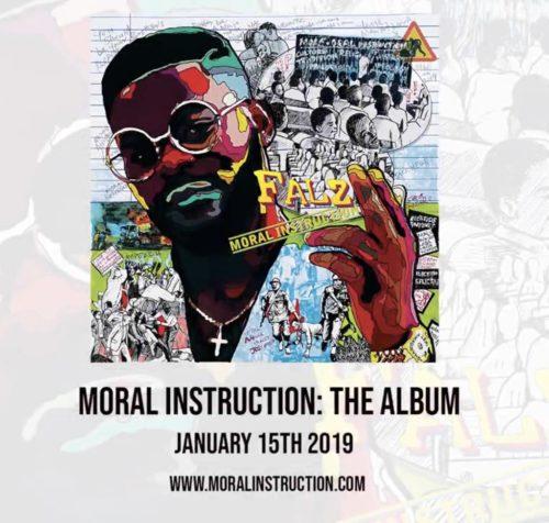 Moral Instruction! Falz Unveils New Album, To Drop Soon