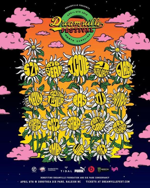 Checkout The 2019 Dreamville Festival Lineup