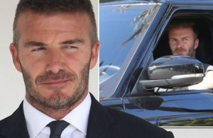 David Beckham admits using a mobile phone while driving his 2018 £100,000 Bentley