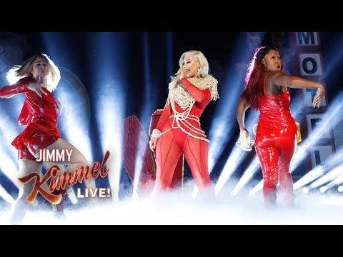"VIDEO: Iggy Azalea Performs ""Sally Walker"" On Jimmy Kimmel Live"