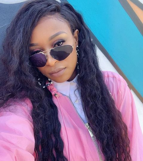 DJ Zinhle swags up in Italy