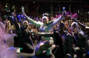 Yemi Alade Sells Out Concert in Mayotte