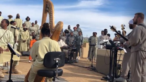 WATCH: Kanye West Honors Nipsey Hussle During Sunday Service