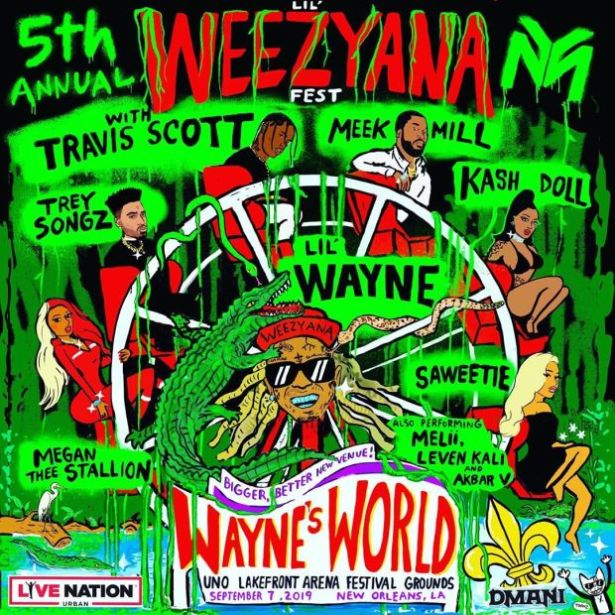 Lil Wayne Announces 5th Annual Lil Weezyana Fest