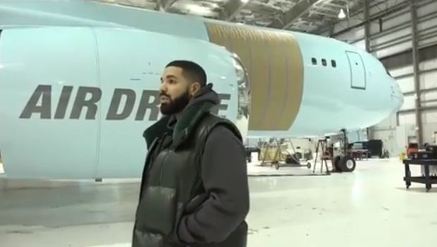 Drake Reveals His New Private Jet (Video)