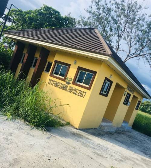 Delta State College Of Education Provost Uses N36m To Build Two Toilets (Photos)