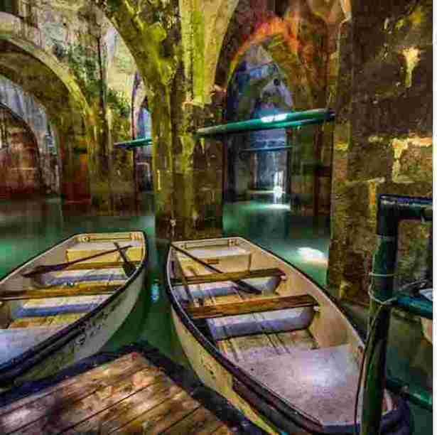 Like Real Magic? Take A Tour Of Ramla's Magical Underground Pool Of Arches