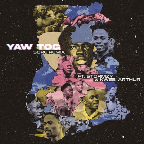 DOWNLOAD Yaw Tog – Sore (Remix) Ft. Stormzy, Kwesi Arthur MP3