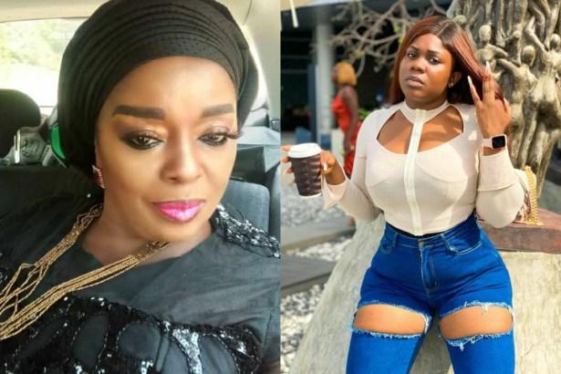 VIDEO: Odumeje 'stays mute' as Rita Edochie bows to pressure, forgives Ada Jesus