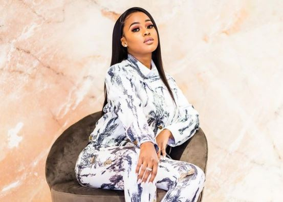 Omuhle Gela called out for allegedly wearing fake Gucci
