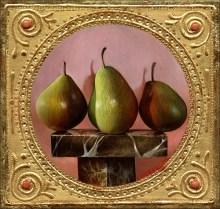 (Predella) Pears On Marble
