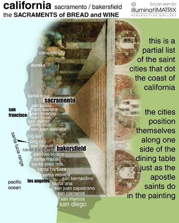 The Last Supper Saint Cities