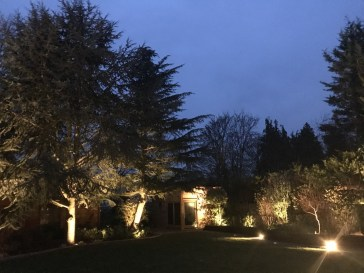 1 1 - illuminating Gardens, Garden Lighting Installation Gallery