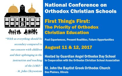 Are You Attending the National Conference for Orthodox Christian Schools?