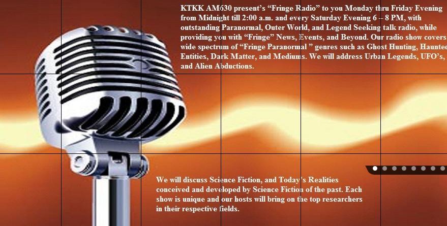 Fringe Radio Show