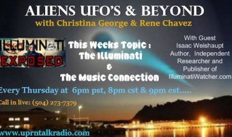 "Isaac Weishaupt on ""Aliens, UFOs & Beyond"" show"
