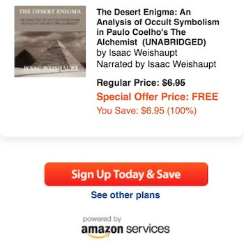 the desert enigma analysis of occult symbolism in the alchemist  the desert enigma analysis of occult symbolism in the alchemist the audiobook illuminatiwatcher
