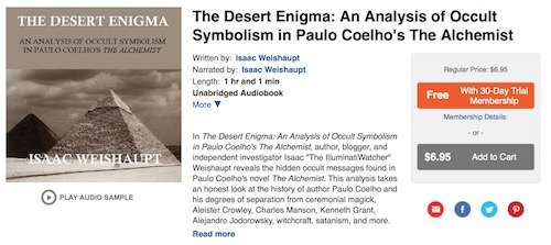 Desert Enigma Sample Audible