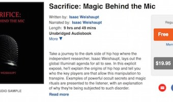 SACRIFICE: MAGIC BEHIND THE MIC- The Audiobook