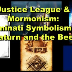 Justice League & Mormonism: Illuminati Symbolism of Saturn and the Bee on the CTAUC Podcast!