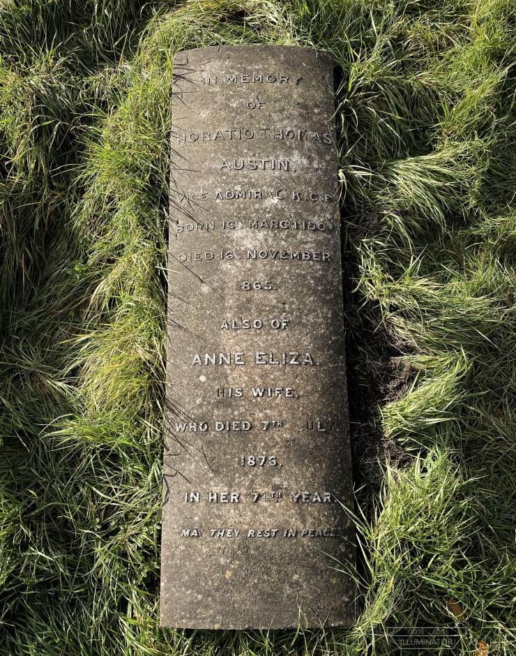 Austin's inscription.