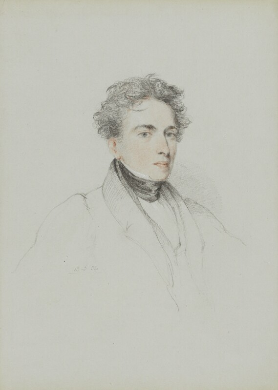 Lander's portrait.