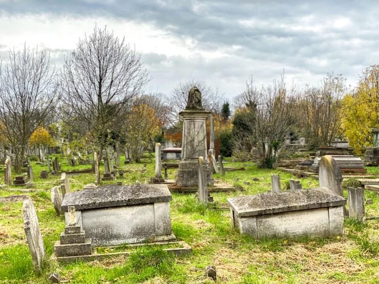 Barrow and McCormick tombs