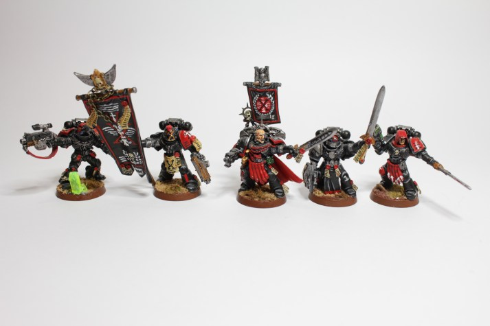 Marchus and Honour Guard