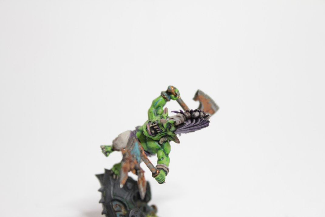 The plastic Dwarf Slayer served as an interesting base
