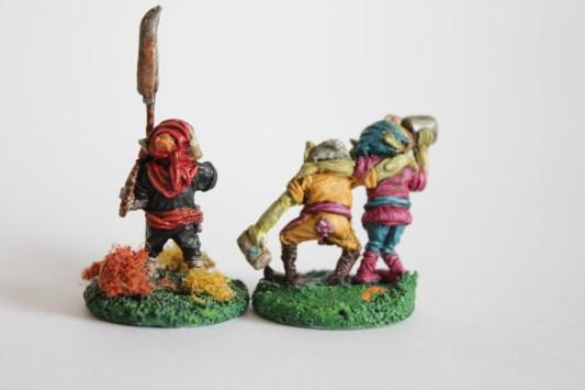 Citadel Drunken Goblins - 1983 with Citadel Great Goblin - 1983