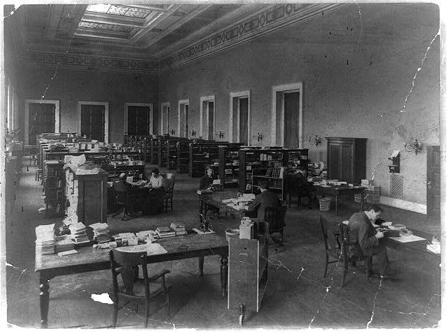 Library of Congress Interior (1900)