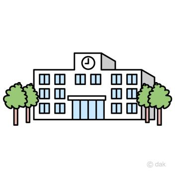 「学校 イラスト」の画像検索結果