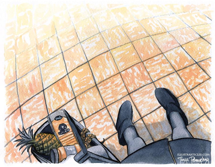 Cheesy Floor