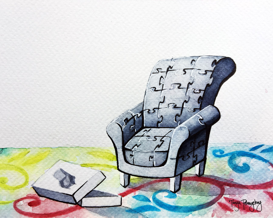 Immigration furniture puzzle