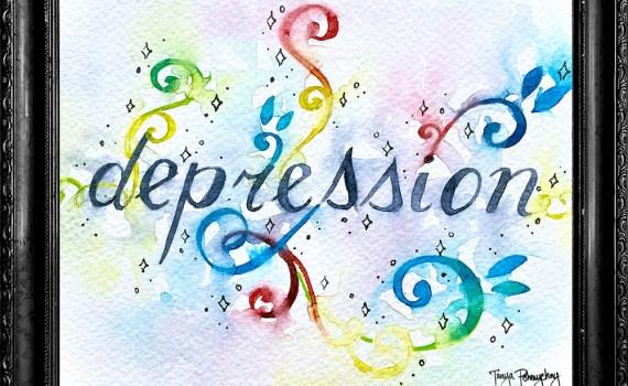 Depression by Tanya Pshenychny