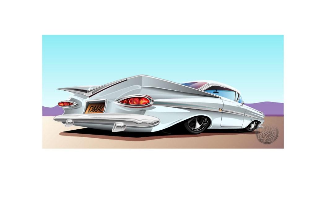 59 impala white