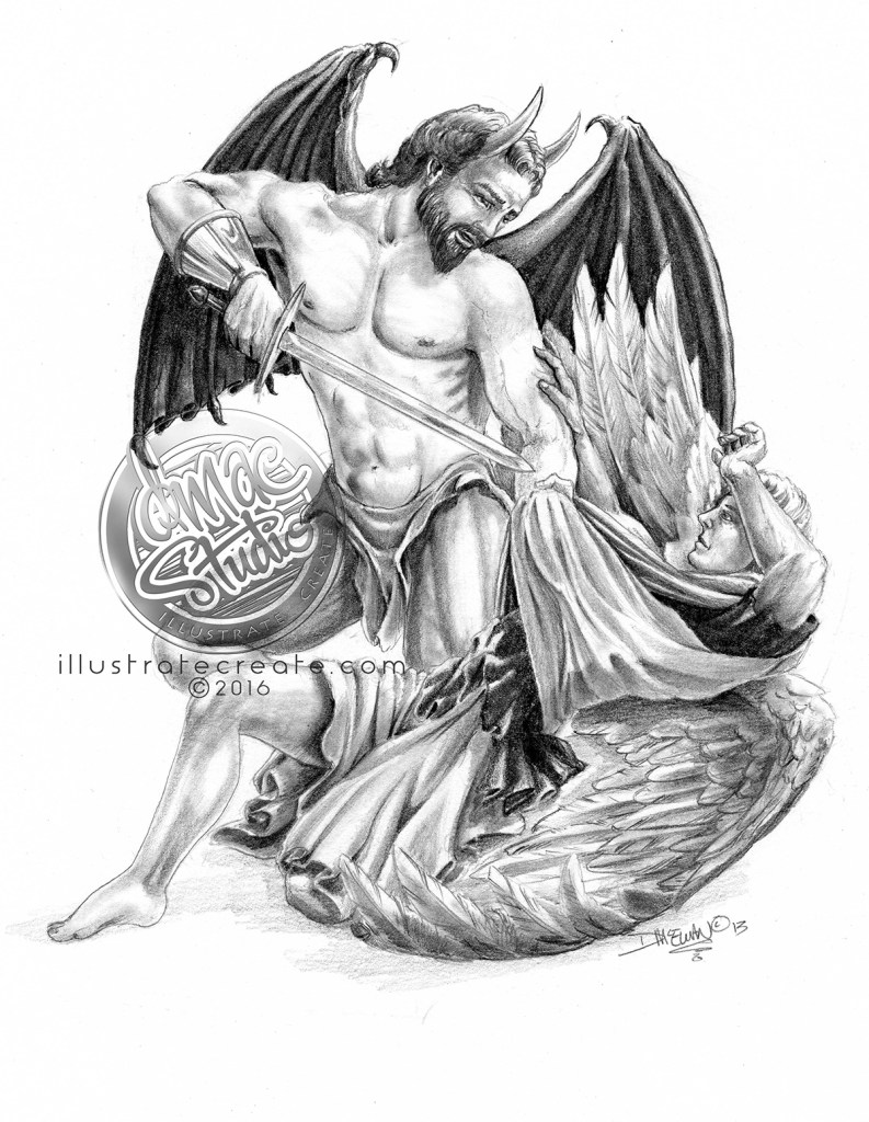 angels and demons pencil