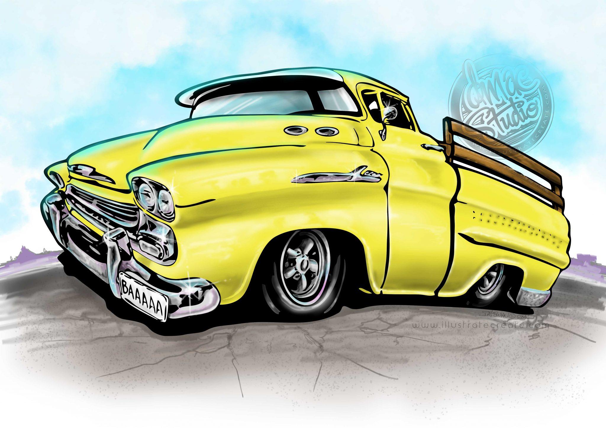 1959 apache chevy