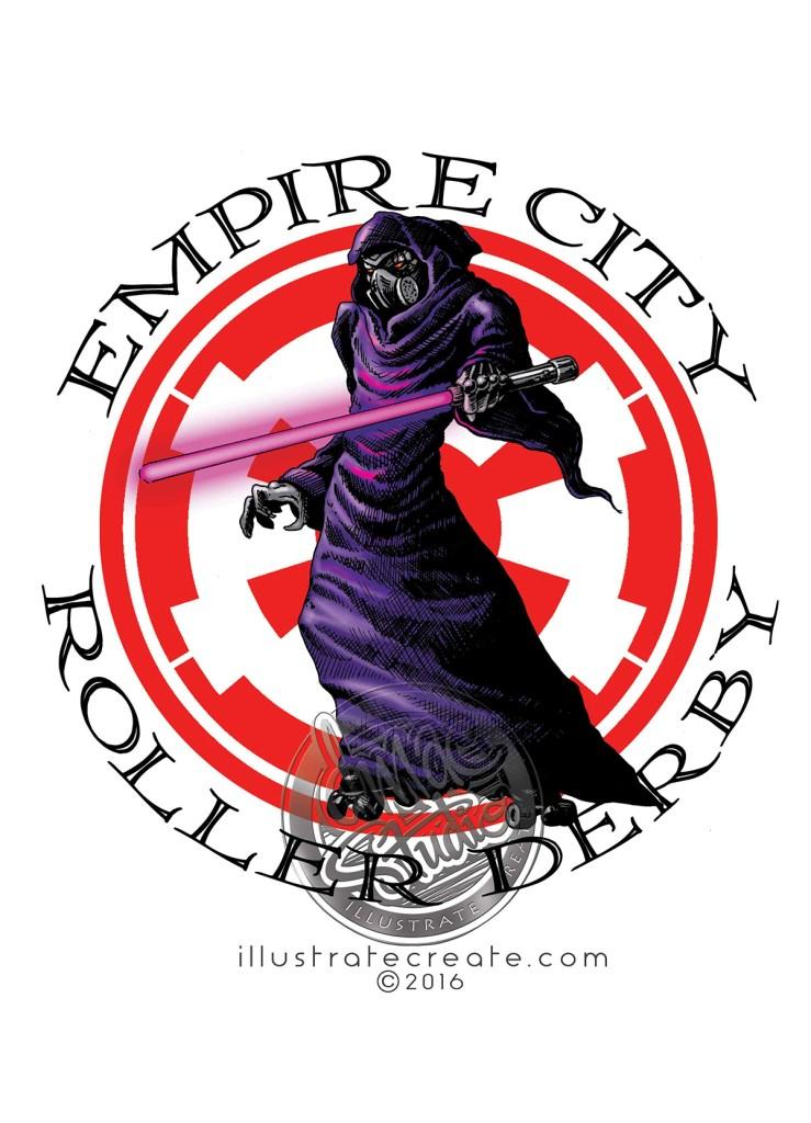roller derby logo