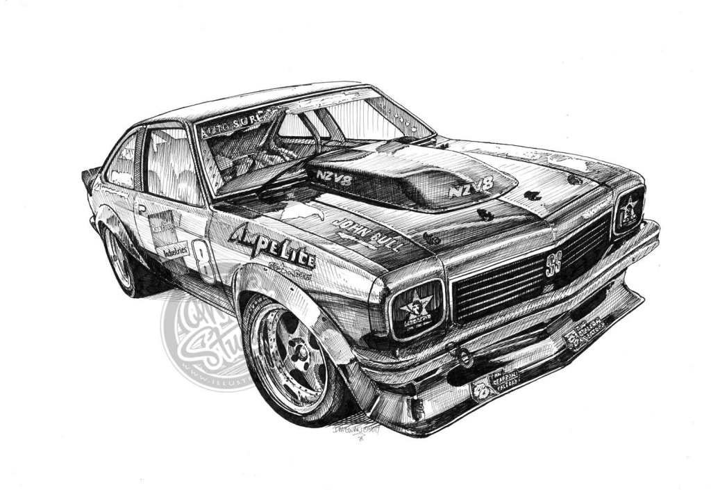 New Zealand Muscle Cars Hopkins Torana