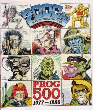 2000 AD Special Souvenir Edition 13 Dec 86 Cover