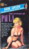 Hank Janson, The Affairs of Paula, vintage paperback