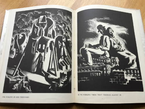 Arthur Wragg, The Lord's Prayer in Black and White