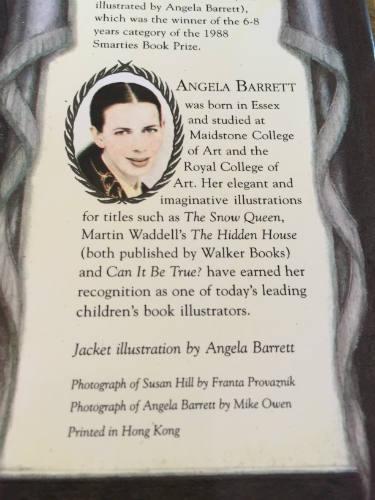 Angela Barrett illustrator original watercolour